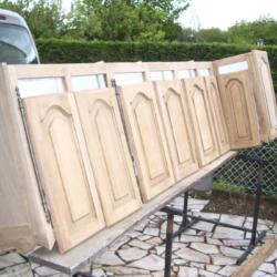 Traitement surface bois